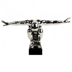 Sculpture contemporaine athlète