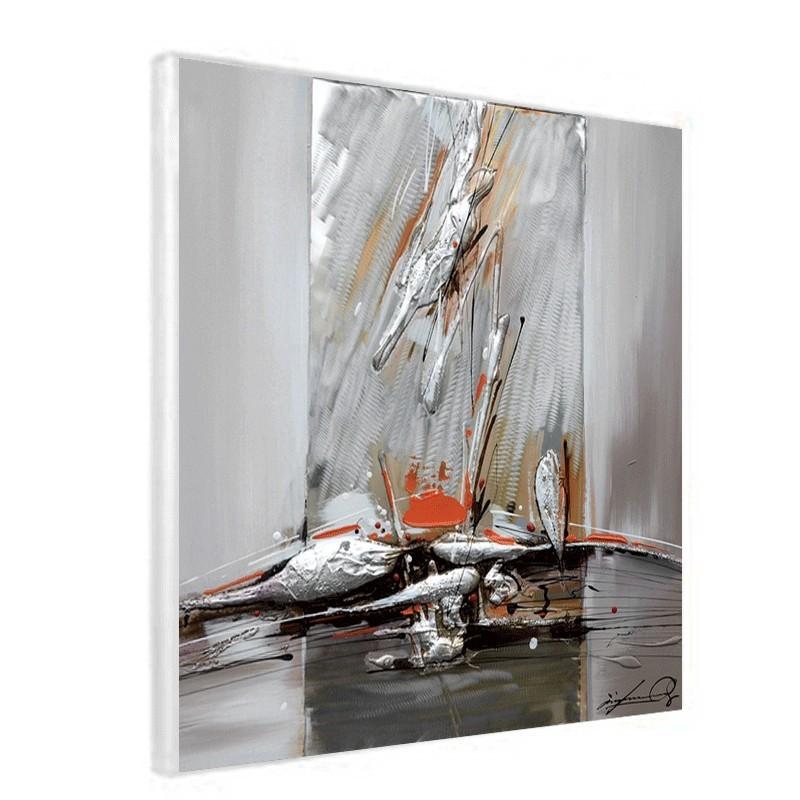 tableau contemporain de peinture abstraite tableau 60x60. Black Bedroom Furniture Sets. Home Design Ideas