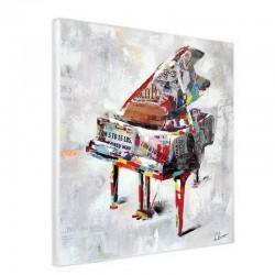 Tableau piano 80x80