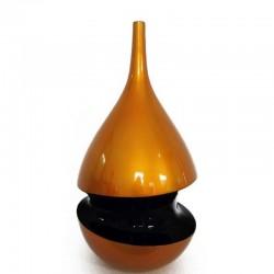 "Vase design TGM or sillon noir ""existence"" 63 cm"