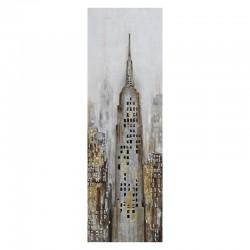 Tableau contemporain urbain 40x120