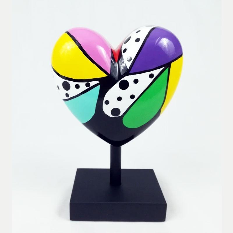 """Sculpture de Déesse, MISSIVE HEART """" Espérance"""" 64/100"""