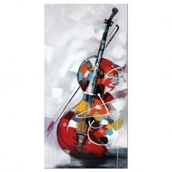 Tableau violoncelle 80x80