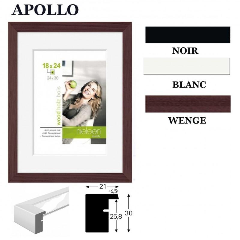 cadre photo 30x40 ou 21x29 7 cm nielsen standard collection apollo. Black Bedroom Furniture Sets. Home Design Ideas