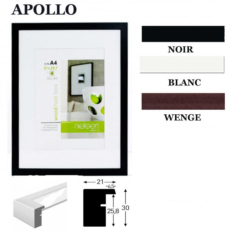 cadre photo 45x60 ou 30x45 cm nielsen standard collection apollo. Black Bedroom Furniture Sets. Home Design Ideas