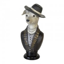 Statuette design BUSTE CHIEN COLLIER