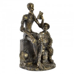 Statuette design DON QUICHOTTE ET SANCHO