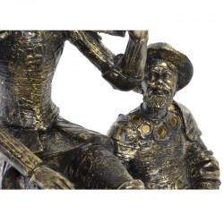 Statuette design DON QUICHOTTE ET SANCHO