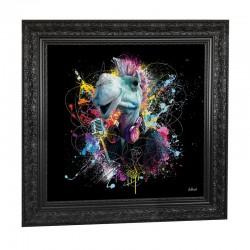"""""""Le chameau"""", 89x89 cm, tableau design SYLVAIN BINET"""