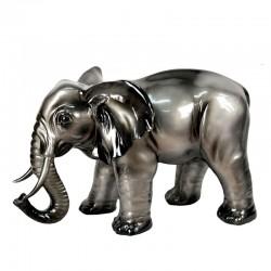 """"""" Eléphant plomb"""", statue déco design"""