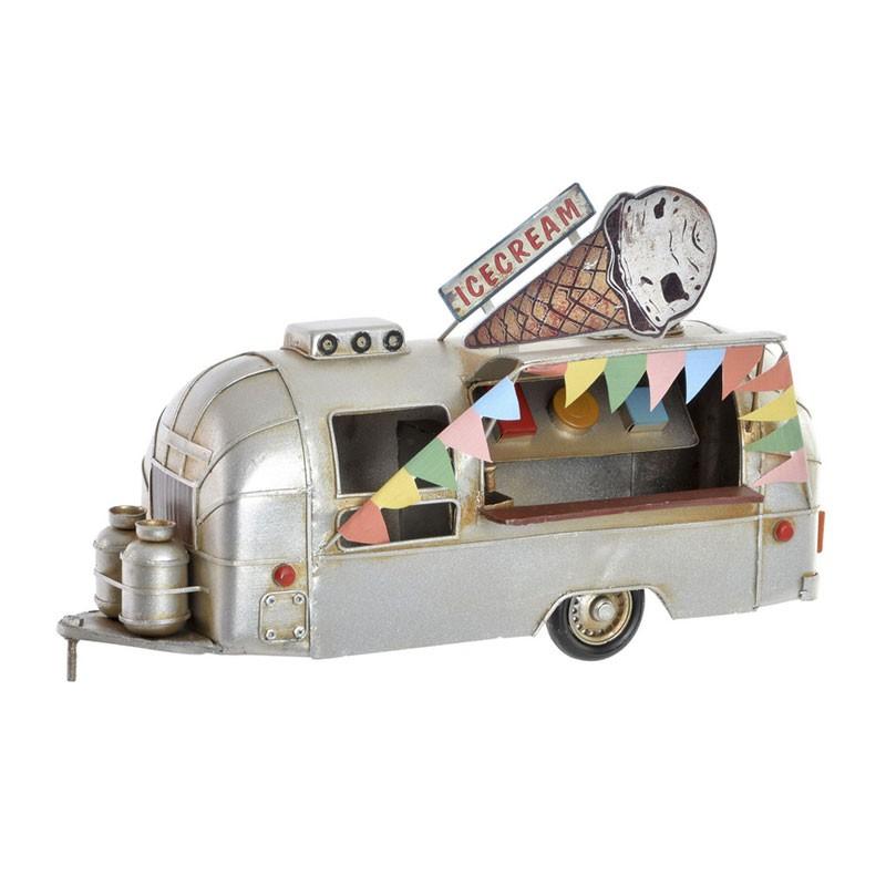 """"""" Food truck """" , Véhicule déco métal vintage"""