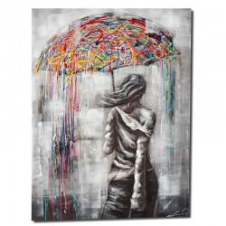 """"""" Jeune femme au parapluie..."""