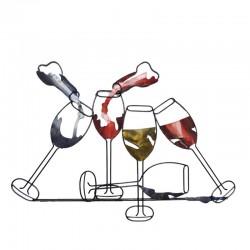 """ Verre de vin en Fête "",..."