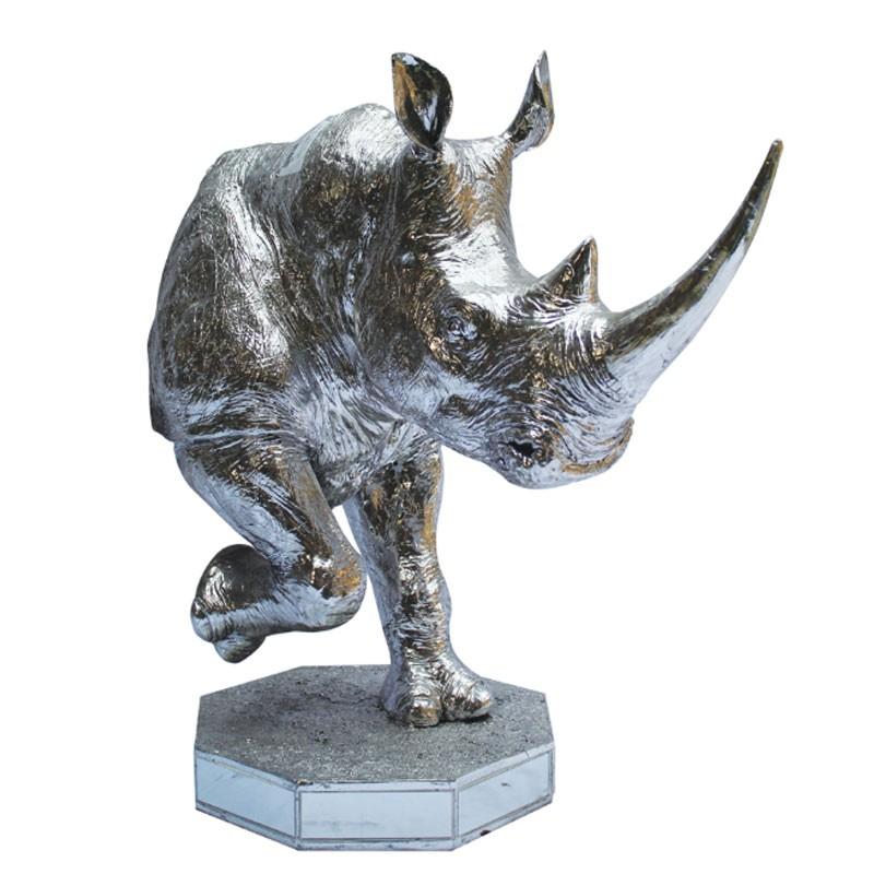 """"""" Buste de RHINOCEROS """", statue déco design"""