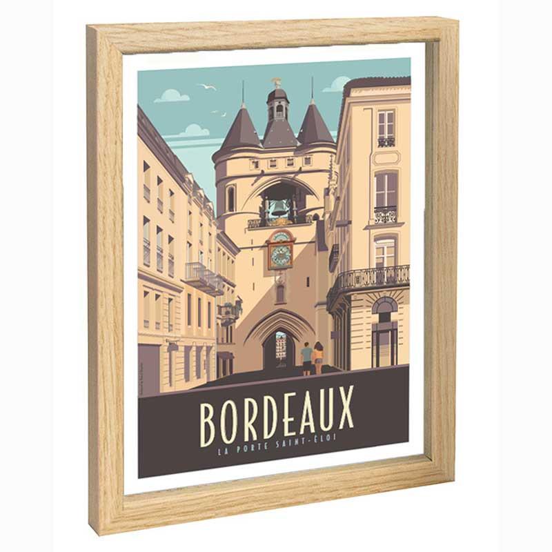 Bordeaux Travel poster 30x40