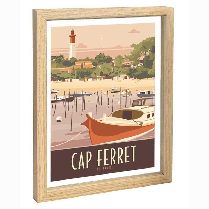 Cap Ferret Travel poster 30x40