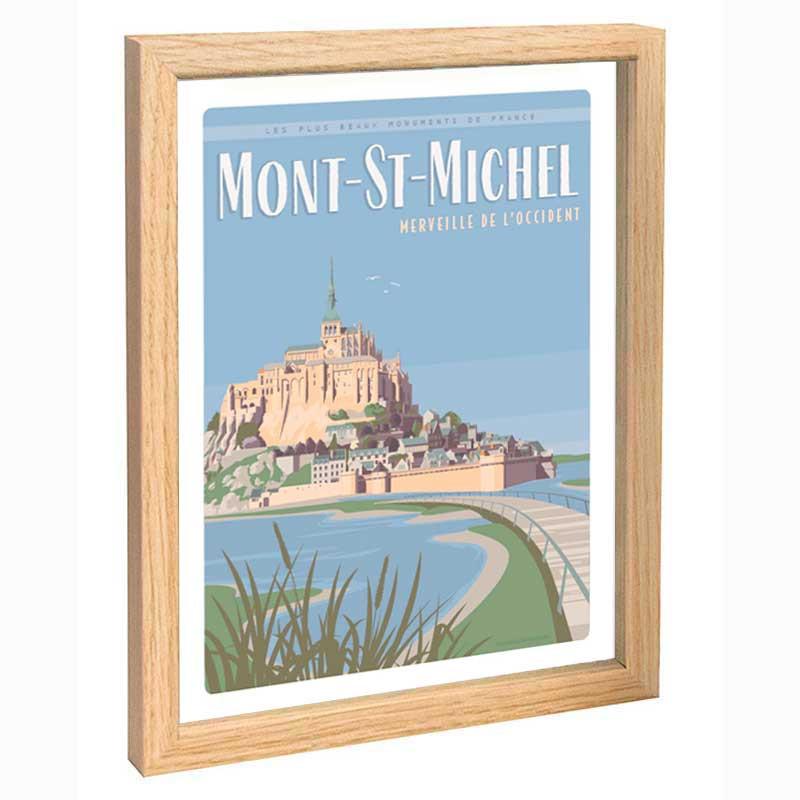 Mont-St-Michel Travel poster 30x40