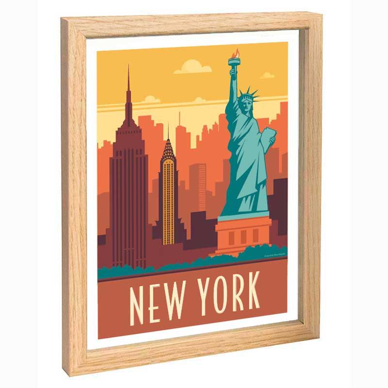 New York Travel poster 30x40