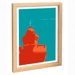 Perpignan Travel poster...