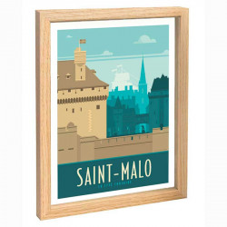 St Malo Travel poster 30x40...