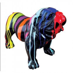 """ BOULEDOGUE ANGLAIS 108 cm "",sculpture et statue design"