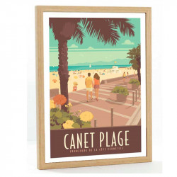 Canet Travel poster 50x70...