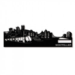 """ MONTPELLIER "",Skyline,..."