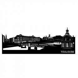 """"""" TOULOUSE """", Skyline, déco..."""