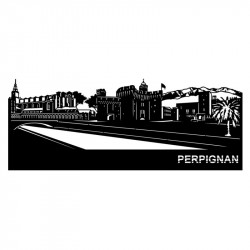 """ PERPIGNAN "",Skyline,..."