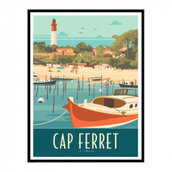 Cap Ferret, le phare 2,...