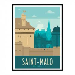 Saint Malo, la cité...