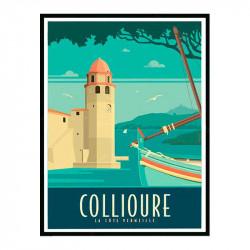 Collioures, la côte...