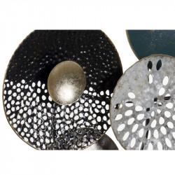 """""""Cercles sculptés arabesque"""", décoration murale métal"""