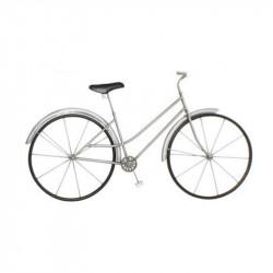 """"""" Bicyclette argent mat """",..."""