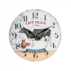"""Horloge murale rétro """" Vache """""""