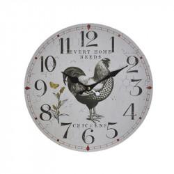 """"""" Coq """", Horloge murale..."""