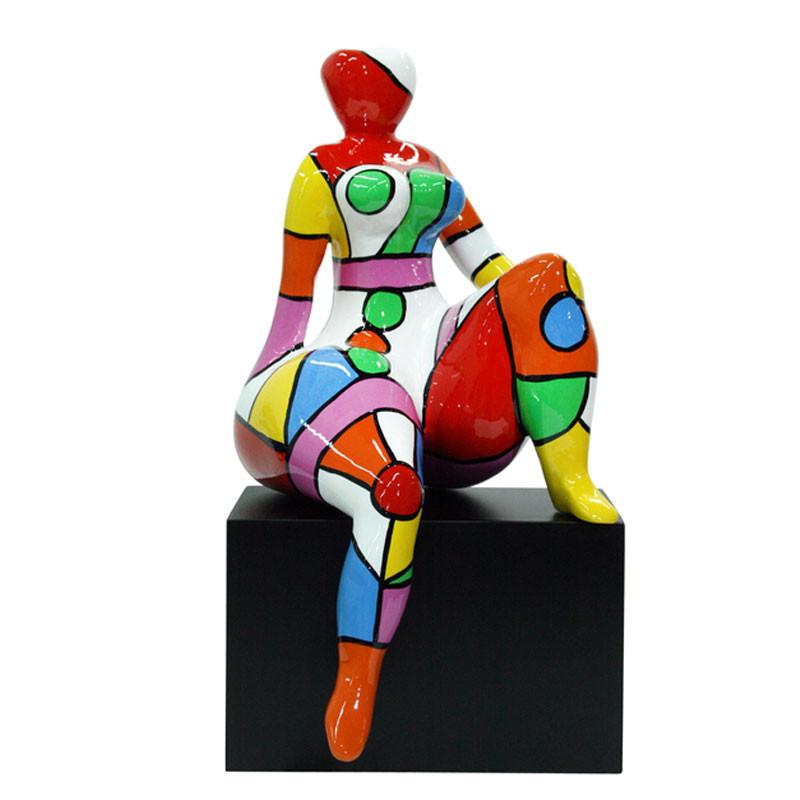 """""""DIVA, Câline """", statuette design de Déesse"""