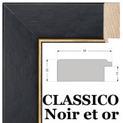 Classico Noir et or Nielsen 10051