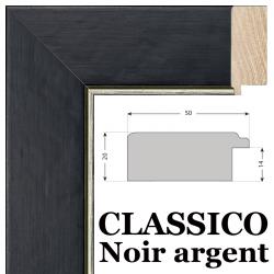 Classico noir et Argent Nielsen 10052
