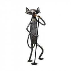 """statuette """" Chat au micro..."""
