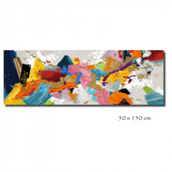 """"""" Explosion de couleurs 2"""", tableau contemporain abstrait"""