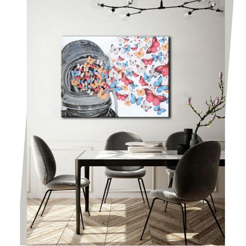 """"""" Cosmo papillons """", tableau contemporain POP"""