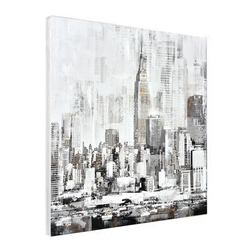 """ New York 1 "", tableau contemporain urbain"