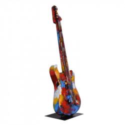 """ Guitare collection pigment"", sculpture contemporaine design"