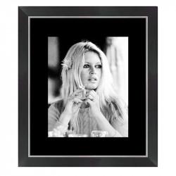 """"""" Brigitte BARDOT """", Tableau cinéma noir et blanc"""