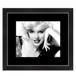 """"""" Marilyn Monroe """",Tableau cinéma noir et blanc"""