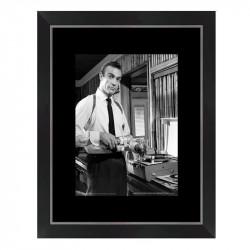 """"""" James BOND, Sean Connery """", tableau cinéma noir et blanc"""