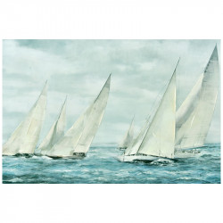 """"""" voiliers en mer """",..."""