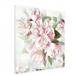 """"""" Roses """",Tableau contemporain floral,80x80 cm"""