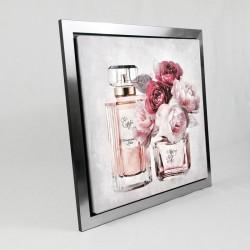""""""" Fleurs et parfum """", tableau contemporain floral"""
